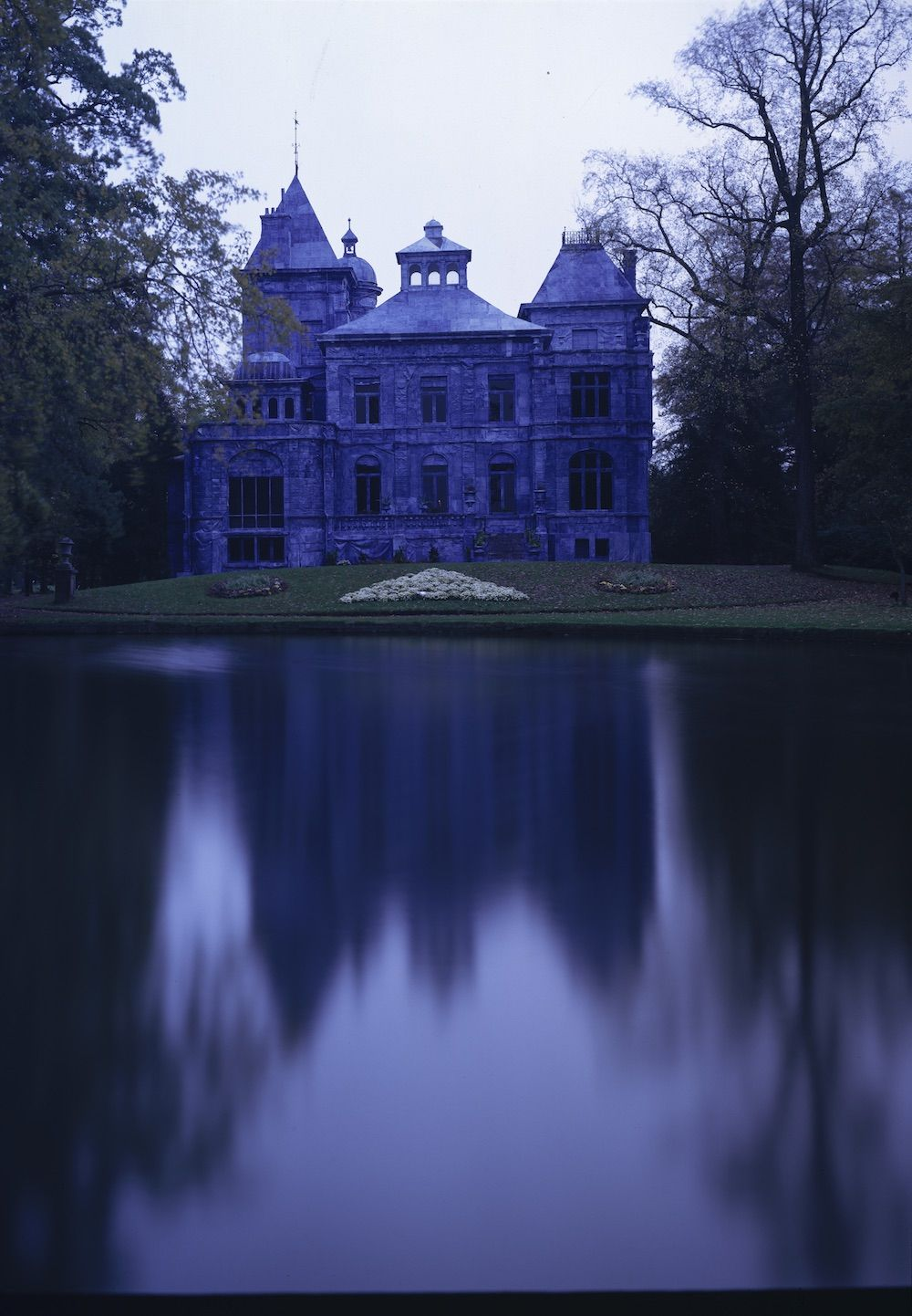 THE CASTLES IN THE HOUR BLUE