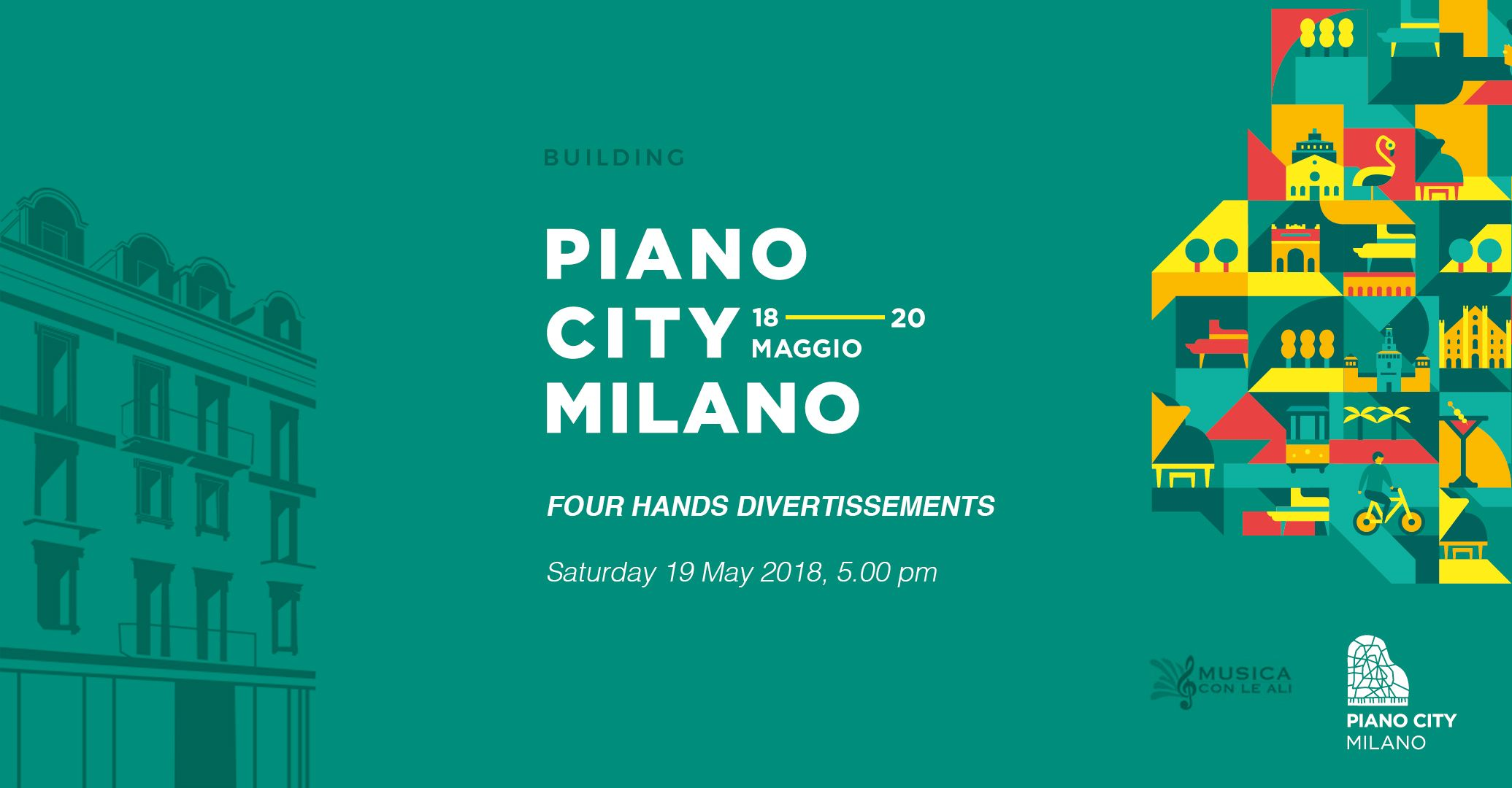 Four Hands Divertissements Piano City Milano 2018