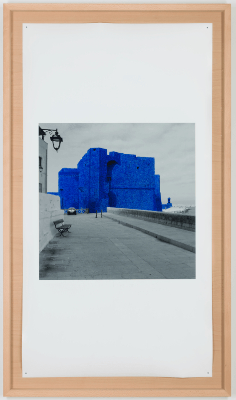 Jan Fabre, The Castle of Monopoli in the Hour Blue II/V