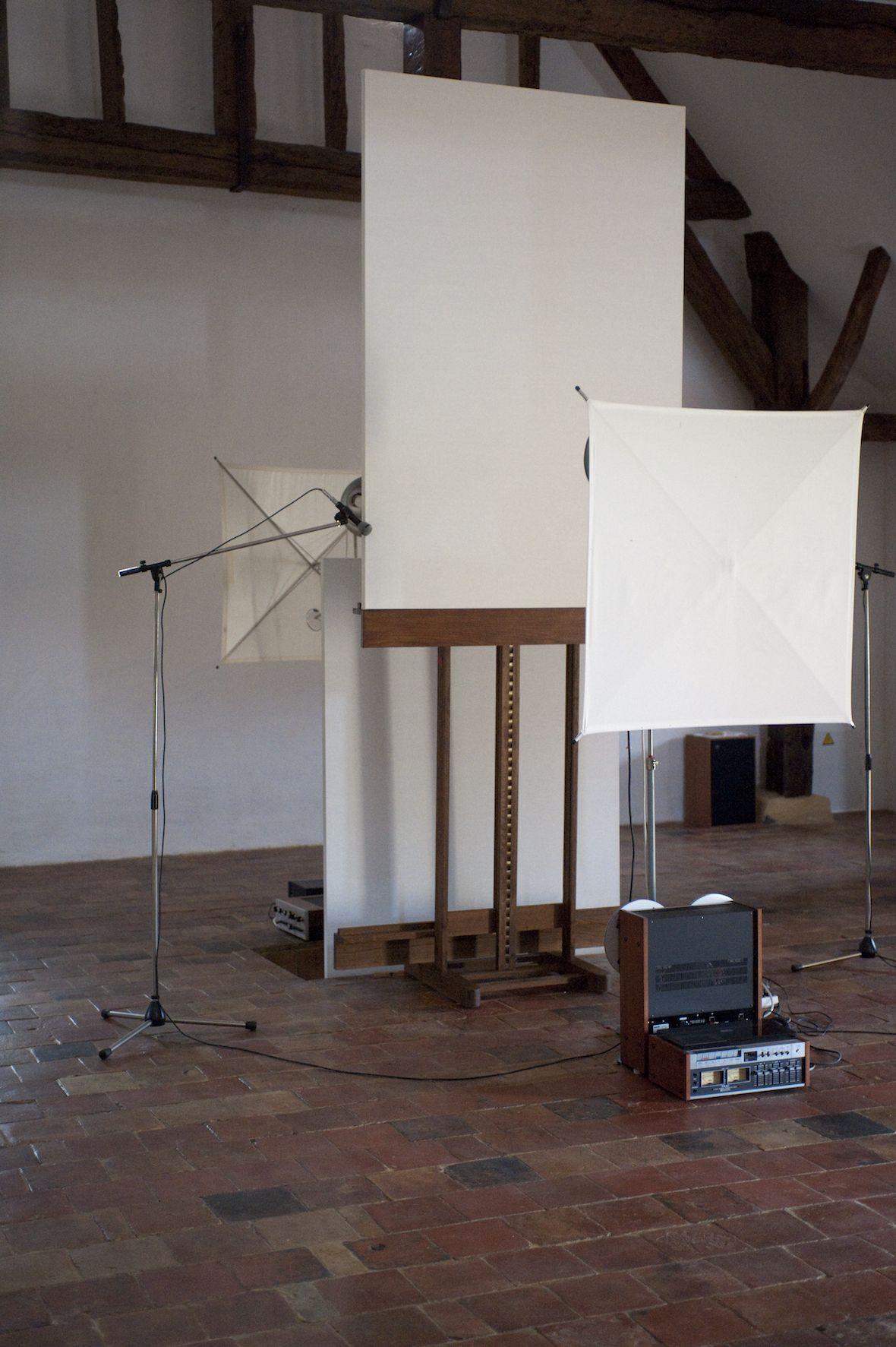 Roman Opalka, Studio images