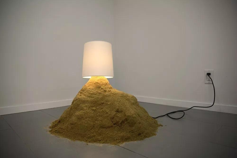 """Jamie Isenstein, """"Sand Lamp"""", 2014"""