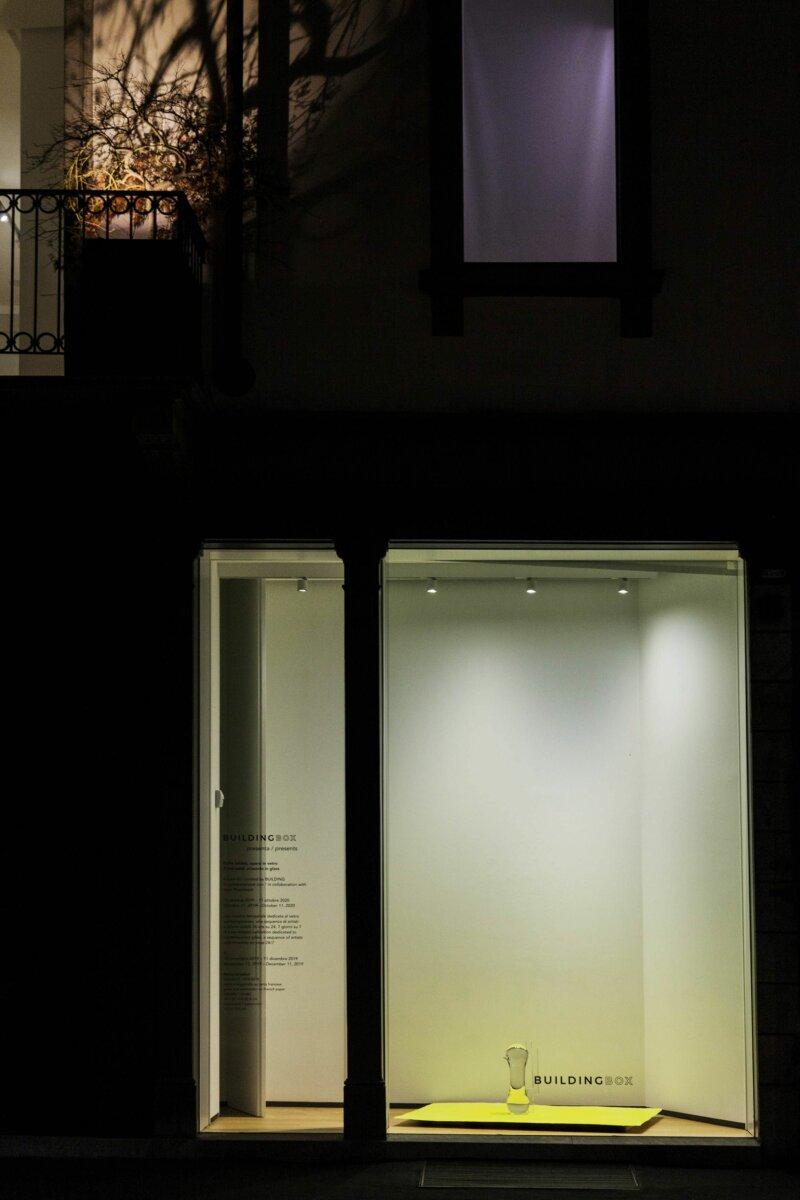 Remo Salvadori, Gravità 0°, installation view